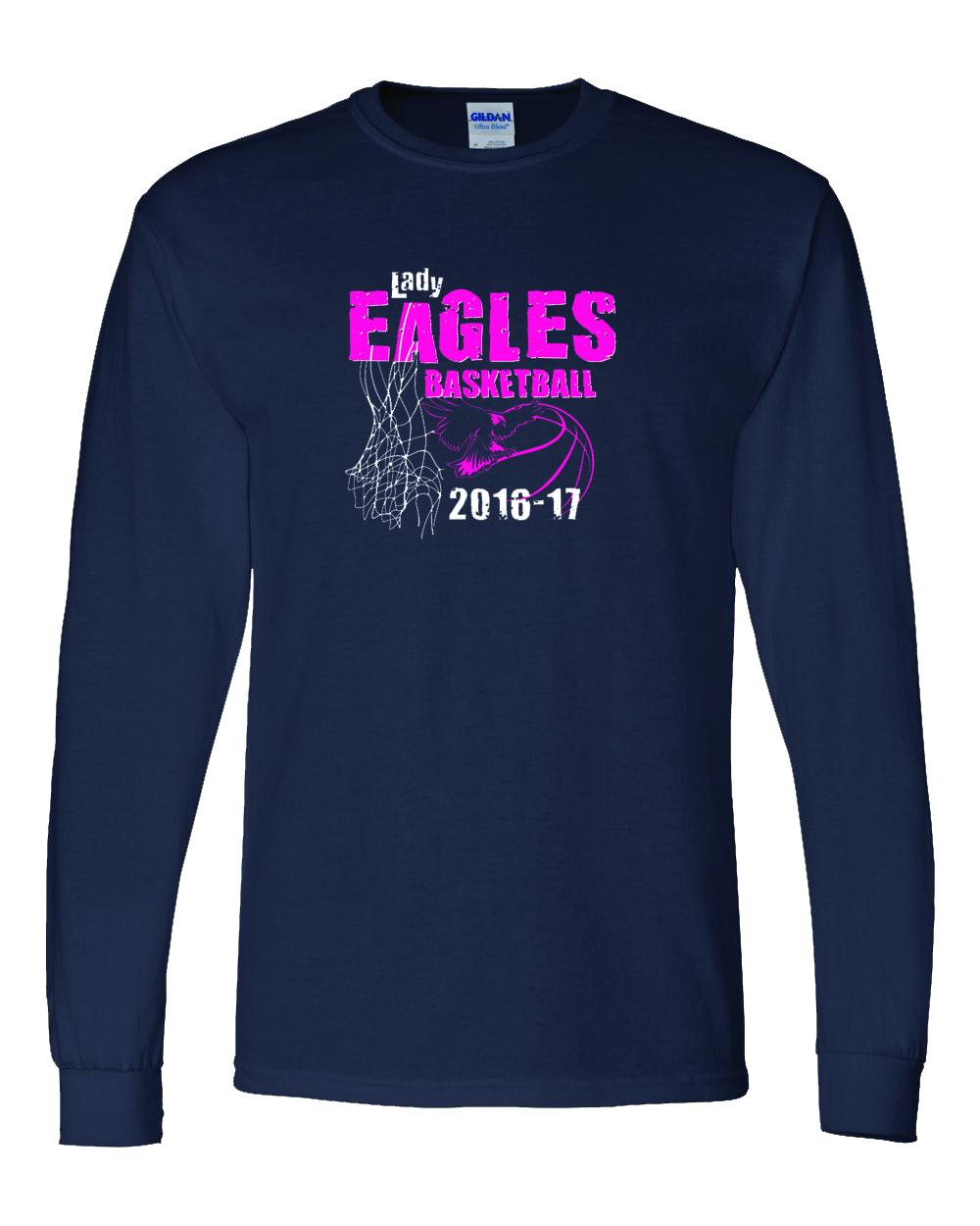 ladies eagles t shirts