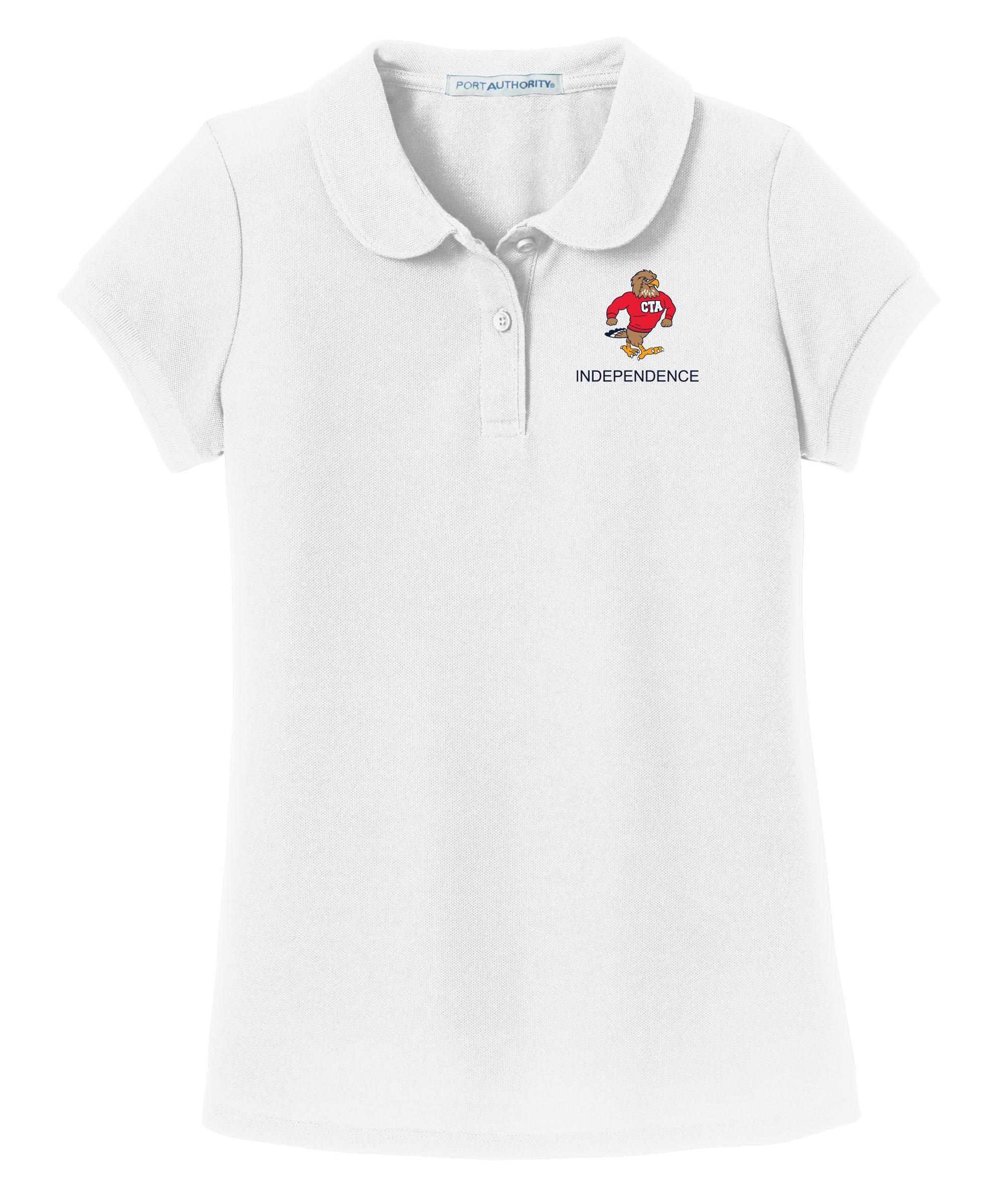 CTA Independence Girl's Polo - Atomic